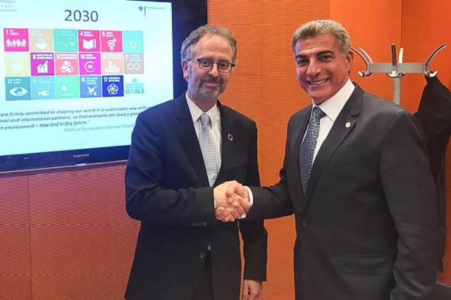 Gali reitera apertura comercial de Puebla con Alemania