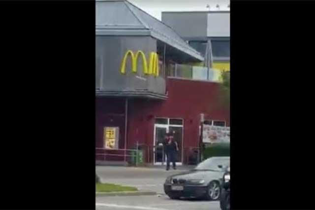 Difunden video del sujeto que disparó a peatones en Alemania