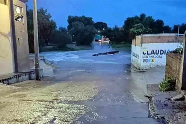 Alerta en municipios de Zacatecas por desbordamiento de presa