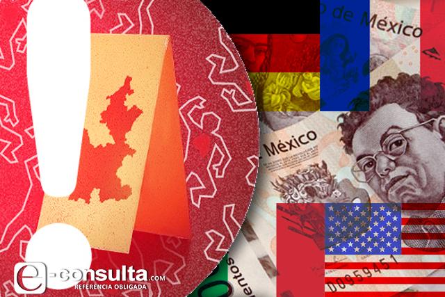 Países que más invierten alertan sobre violencia en Puebla