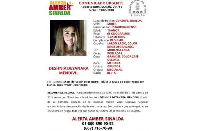 Reportan desaparecidas a dos jóvenes de 16 años en Sinaloa