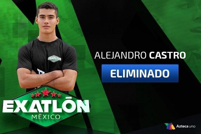 Alex Castro pierde con Dann Noyola y es eliminado de Exatlón