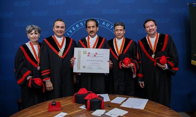 Esparza Ortiz, miembro de la Academia Mexicana de Derecho Internacional