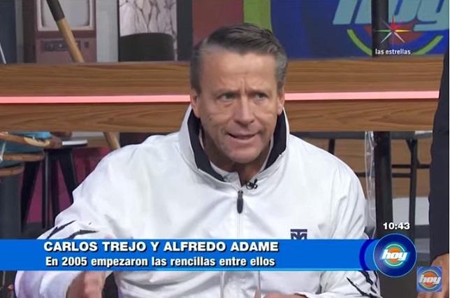 Alfredo Adame denuncia a Carlos Trejo por botellazo