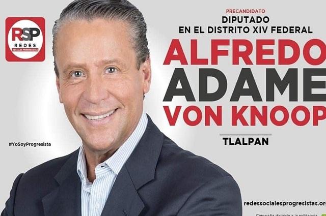 Alfredo Adame presume quedarse con dinero de campaña política