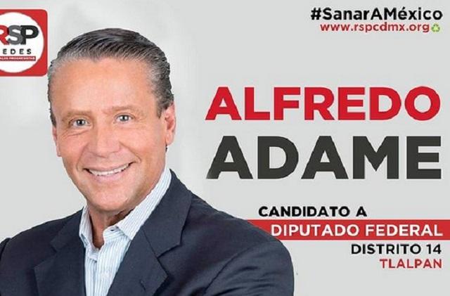 Detienen juicio contra Alfredo Adame