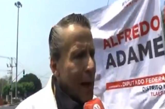 Video: Con insultos y groserías, Alfredo Adame comenzó campaña