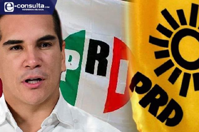 Camina alianza PRI-PRD en Puebla; ya buscan candidatos