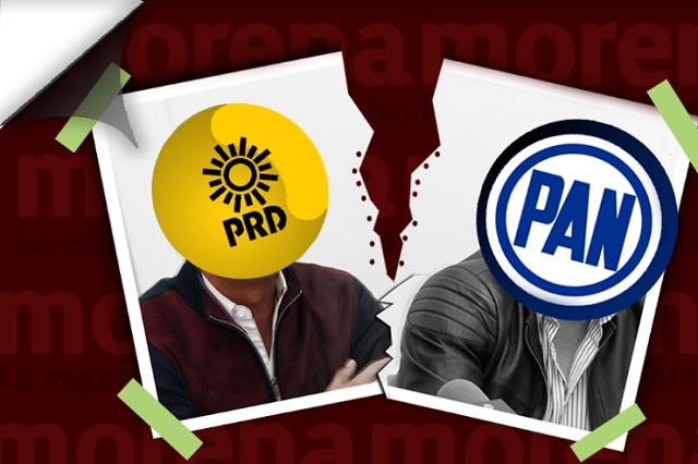 Se resquebraja la alianza panista y hasta el PRD iría solo en 2019