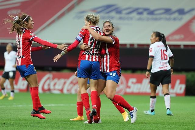 Alicia Cervantes alcanza a Norma Palafox como goleadora de Chivas Femenil