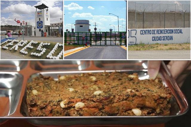 Abren licitación para 7 mil comidas en los penales de Puebla