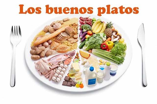 Hábitos de una dieta buena y saludable