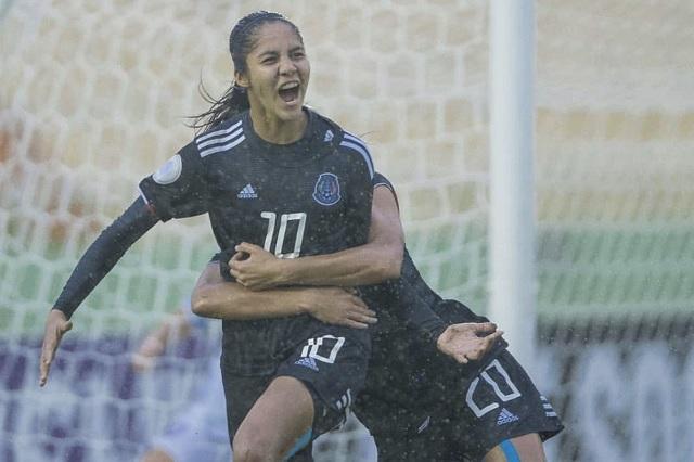 Alison González, la nueva romperedes del futbol mexicano