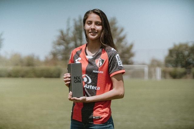Alison González, reconocida como la 3er mejor futbolista joven del mundo