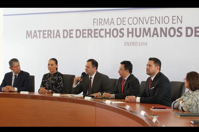 Dependencias del gobierno estatal fomentarán derechos de las mujeres