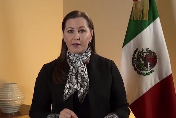 Llama Alonso a la reconciliación tras ratificarla como gobernadora