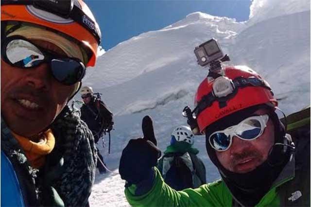 Hallan cuerpo de alpinista mexicano que murió en montaña peruana