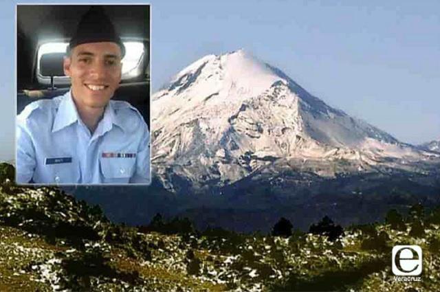 Militar de Estados Unidos es buscado en Pico de Orizaba