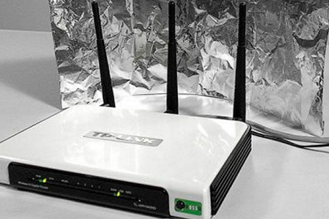 ¿El papel aluminio mejora la señal de Wi-Fi?