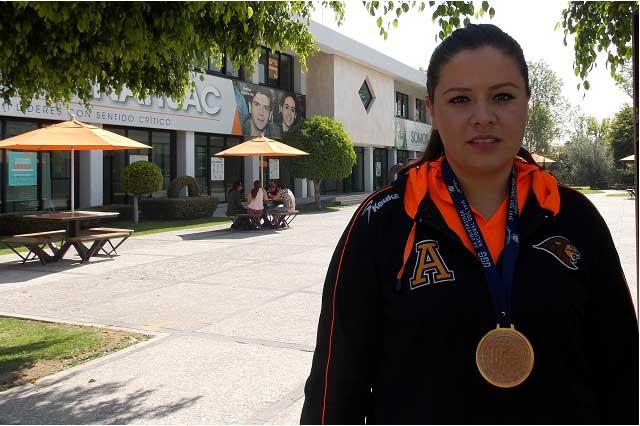 Alumna de la Anáhuac gana bronce en Universiada Nacional 2016