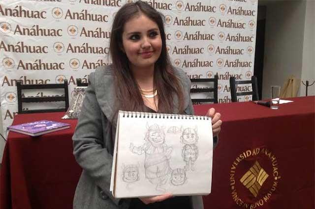 Estudiante de la Anáhuac gana concurso internacional de ilustración