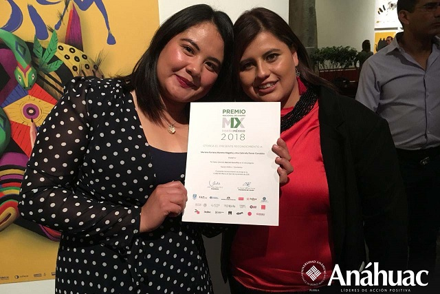 Alumnas Anáhuac, con mención honorífica en Premio Nacional de Diseño