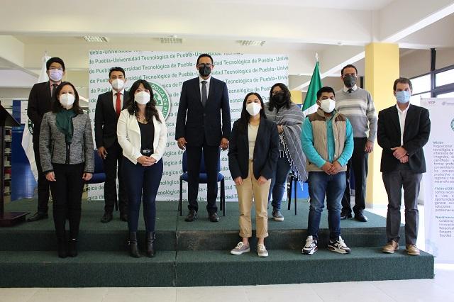 Logran 8 becas a Francia en la Universidad Tecnológica de Puebla