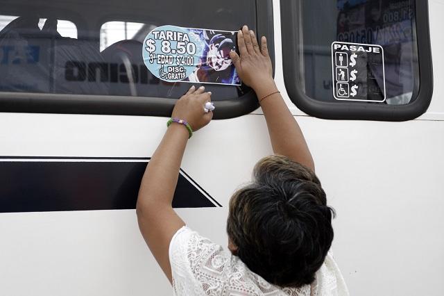 Con operativos, SMT supervisó cobro en tarifa del transporte público