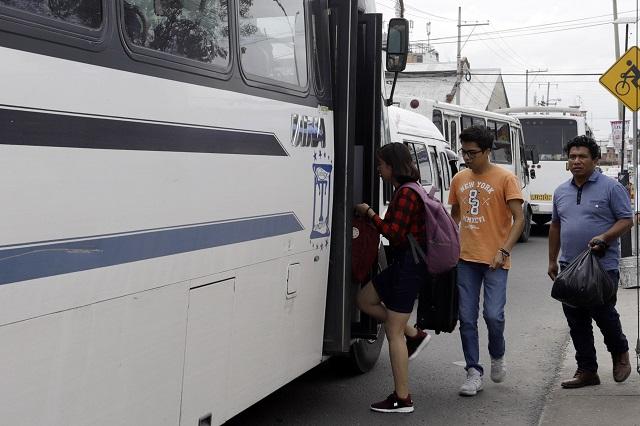 Mantener tarifa de transporte a estudiantes, para frenar protestas, señalan