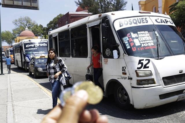 Definitivo: tarifa del transporte no aumentará, afirma  Gali