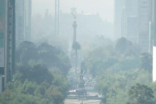 Reportan 130 puntos IMECAS en la CDMX y mala calidad del aire