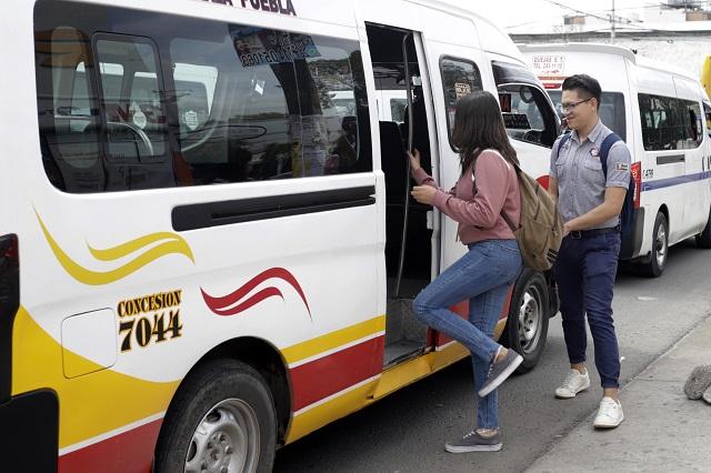 Incumplen rutas con descuento a estudiantes en Puebla