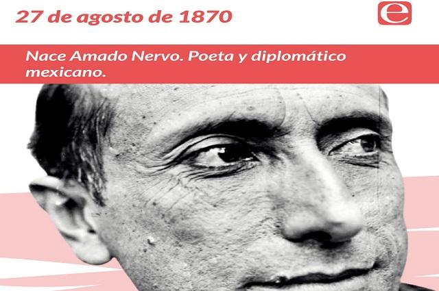 Así fue la trayectoria literaria de Amado Nervo