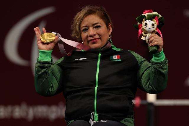 Amalia Pérez consigue oro para México en halterofilia