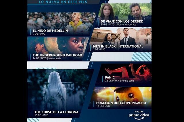 Estos son los estrenos de mayo en Amazon Prime Video