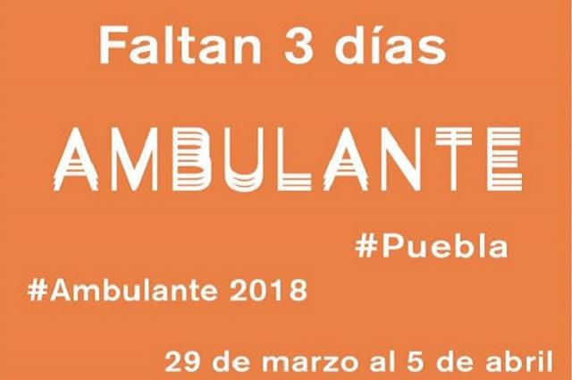 ¡Esta semana comienza Ambulante en Puebla!