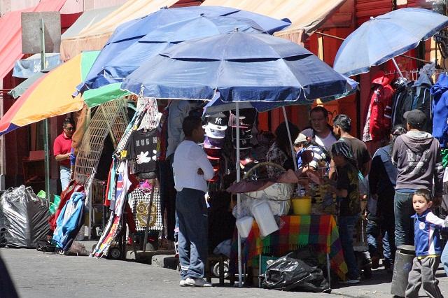 Puebla, entre los estados con mayor comercio informal