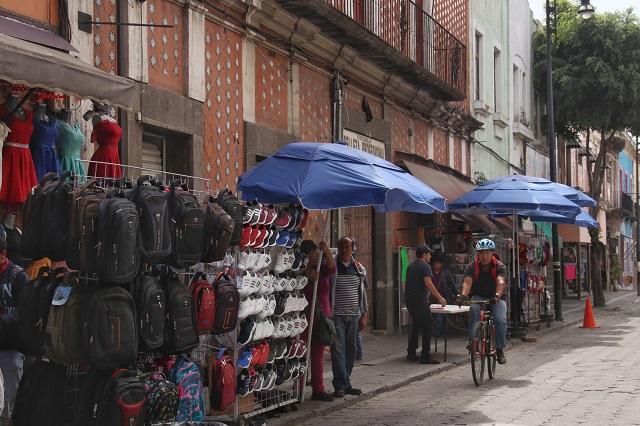 Dan 6 meses más a ambulantes para ocupar las calles de Puebla