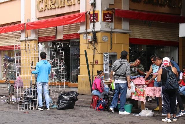 Hacen lista en Puebla para retirar a los primeros 100 ambulantes