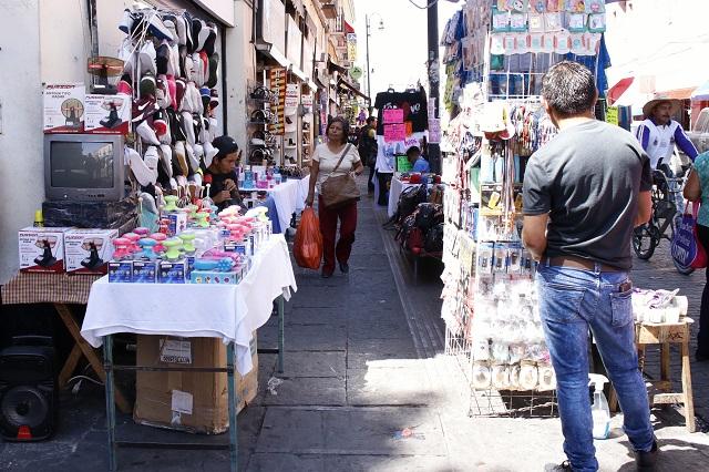 Prometen liberar de ambulantes el Centro para Semana Santa