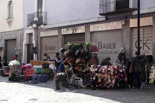 Controlar ambulantes para cuidar al turismo, pide Cañedo Priesca