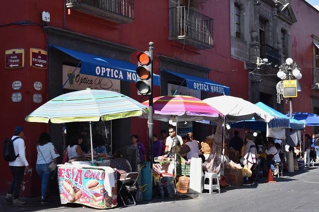 Ayuntamiento dice que no recibe ingresos por comercio informal