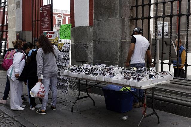 Seguridad y ambulantes, deudas de Banck con Puebla: comerciantes
