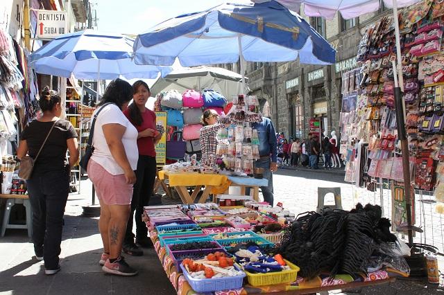 Comienza diálogo de ayuntamiento de Puebla y comercio informal