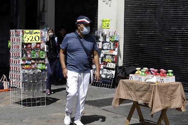 Reabrir calles en centro de Puebla alza ventas en 5 %