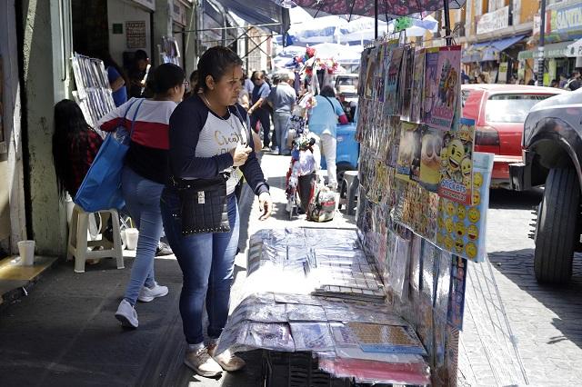 Ambulantes e inseguridad, pendientes del gobierno de Rivera: CCE