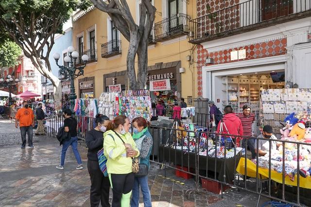 Comercio ve a gobierno incapaz ante los ambulantes en Puebla