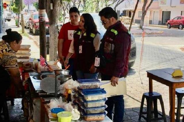 Retiran a ambulantes en Tehuacán por falta de permisos