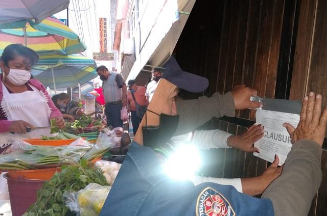 Ignoran Covid en Tehuacán con fiestas y exceso de ambulantes