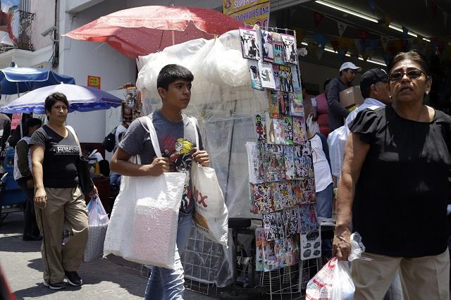 Comercio prepara protestas contra permisos a ambulantes en Puebla